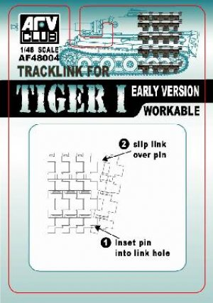 Track for Tiger I Early Version  (Vista 1)