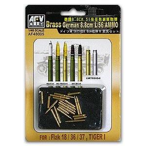 GERMAN 8.8cm L/56 Ammo Set - Ref.: AFVC-48005