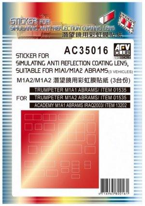 Sticker for Simulating Anti Reflection C  (Vista 1)