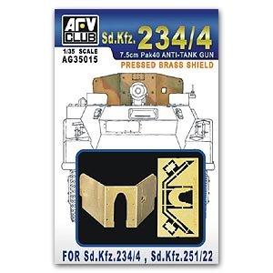 Gun Shield for Sd.Kfz.251/22 & 234/4 - Ref.: AFVC-AG35015