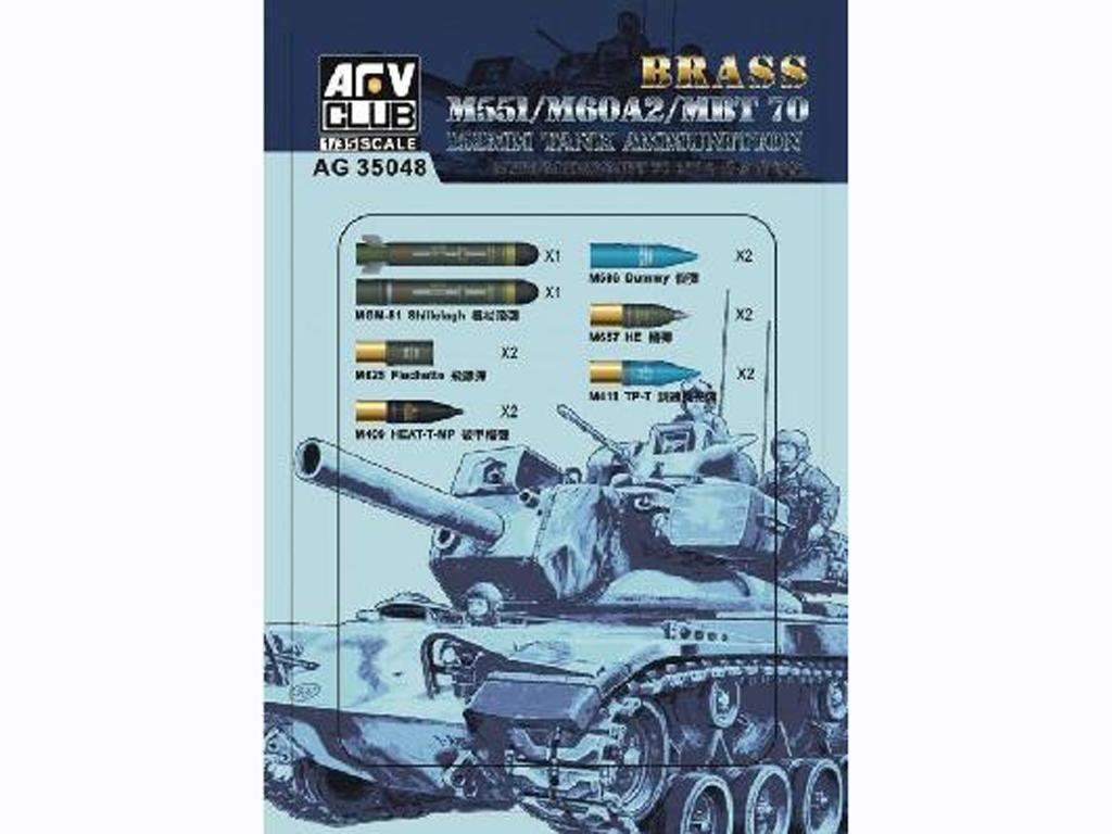 M551/60A/MBT70 152MM Ammunition  (Vista 1)