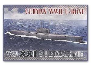 German U Boat Type XXI   (Vista 1)