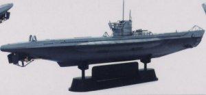 U-Boat Type VII / B  (Vista 3)
