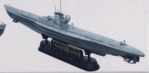 U-Boat Type VII / B  (Vista 4)