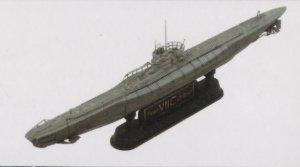 U-Boat Type VII / C  (Vista 4)