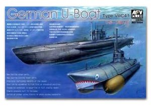 German U-Boat TYPE VII C/41  (Vista 1)