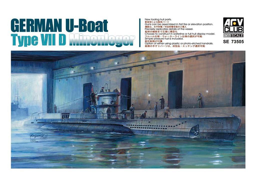U-Boat Type VII / D   (Vista 1)