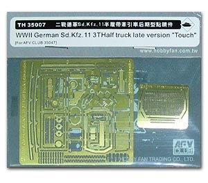German Sd.Kfz.11 3T Halftrack Late versi  (Vista 1)