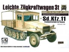 German 3 Ton Half-Track Sd.Kfz.11 Late M - Ref.: AFVC-35047