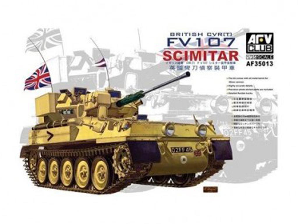 Bristish CRVT FV107 Scimitar (Vista 1)