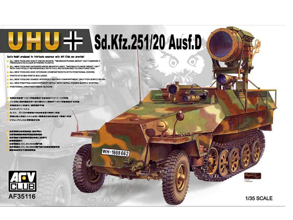 Sd.Kfz.251/20 Ausf. D. (Vista 1)