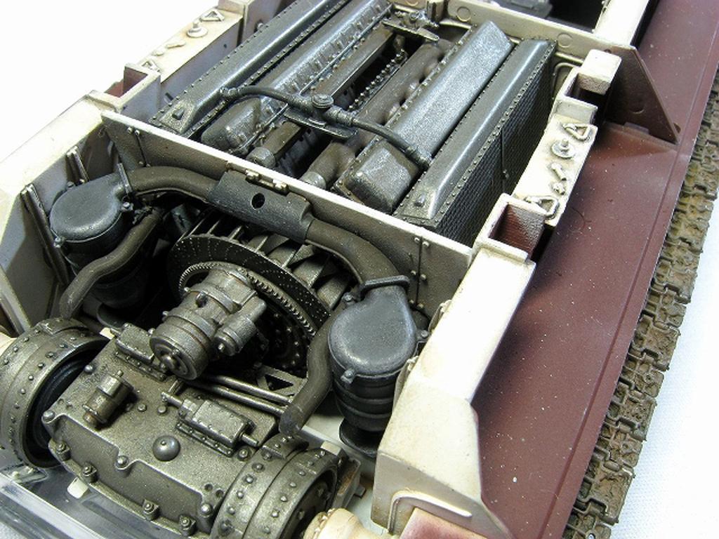 T34/85 Model 174 Factory Full Interior K (Vista 2)