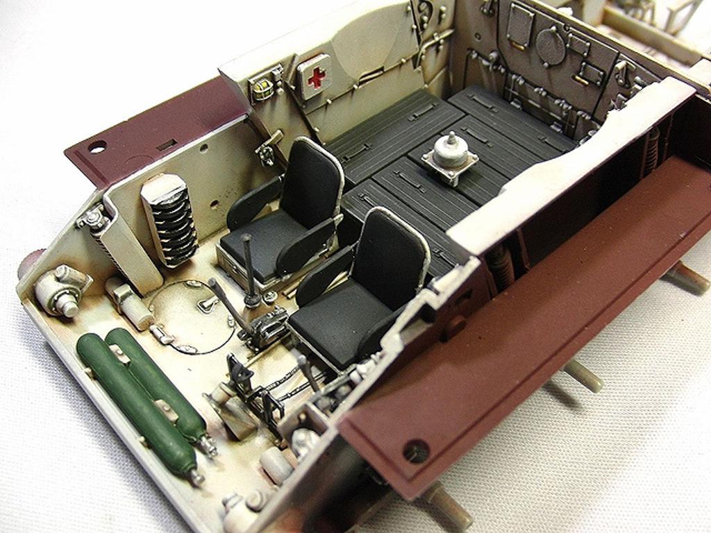 T34/85 Model 174 Factory Full Interior K (Vista 3)