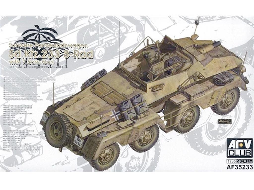 PanzerFunkwagen SD.KFZ.233 8-RAD W/7.5CM (Vista 1)
