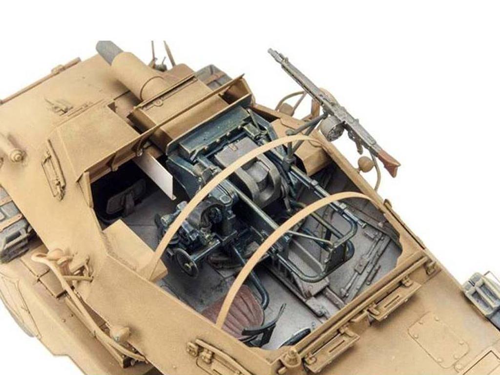PanzerFunkwagen SD.KFZ.233 8-RAD W/7.5CM (Vista 8)