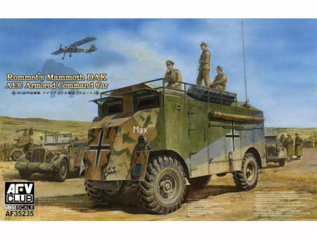 Rommel's Mammoth DAK-AEC (Vista 1)