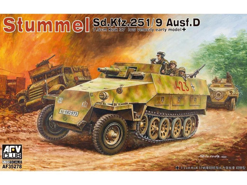 Stummel SD.Kfz.251/9 Ausf.D Early (Vista 1)