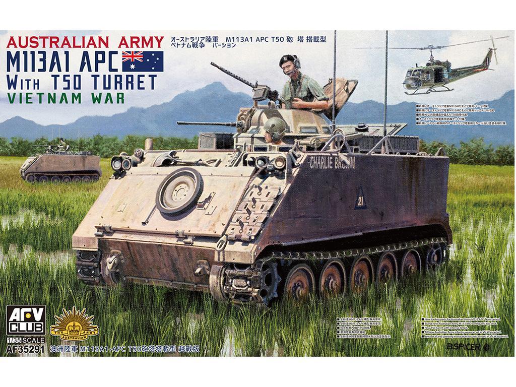 Australian army M113A113A1 w/ T50 turret (Vista 1)