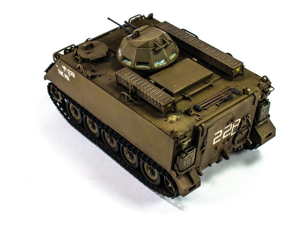 Australian army M113A113A1 w/ T50 turret (Vista 2)