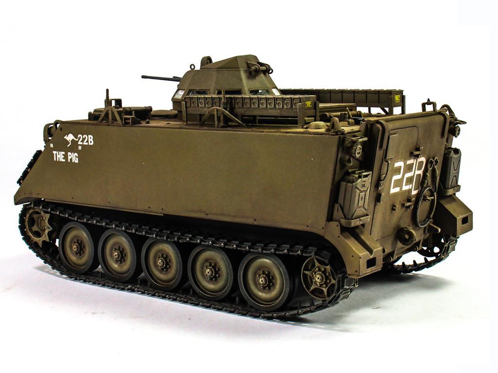 Australian army M113A113A1 w/ T50 turret (Vista 3)