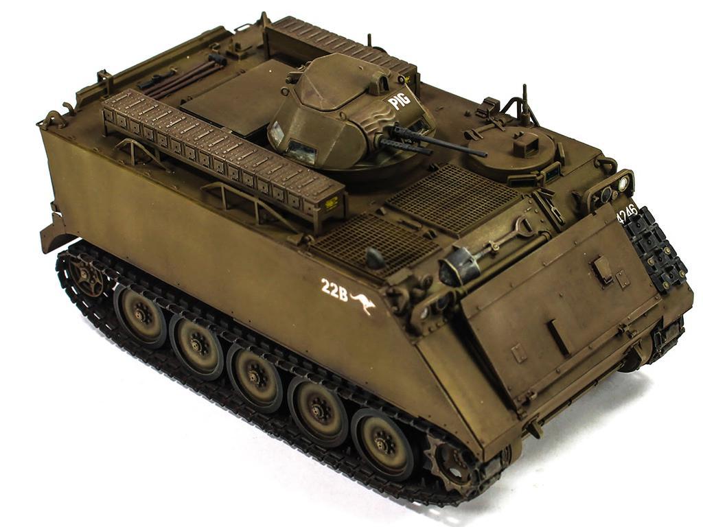 Australian army M113A113A1 w/ T50 turret (Vista 4)