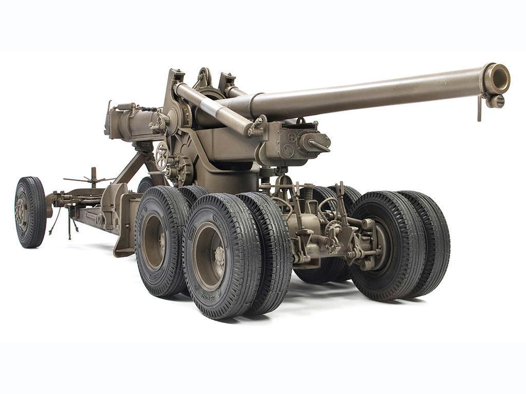 M1A1 155mm CANNON Long Tom WW 2 Version  (Vista 2)
