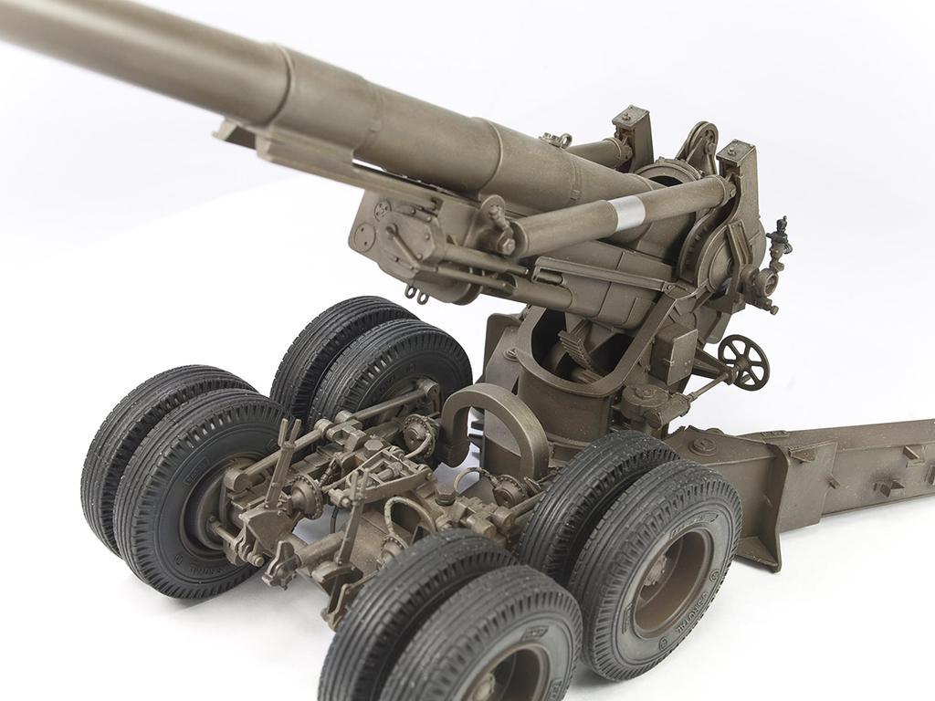 M1A1 155mm CANNON Long Tom WW 2 Version  (Vista 3)