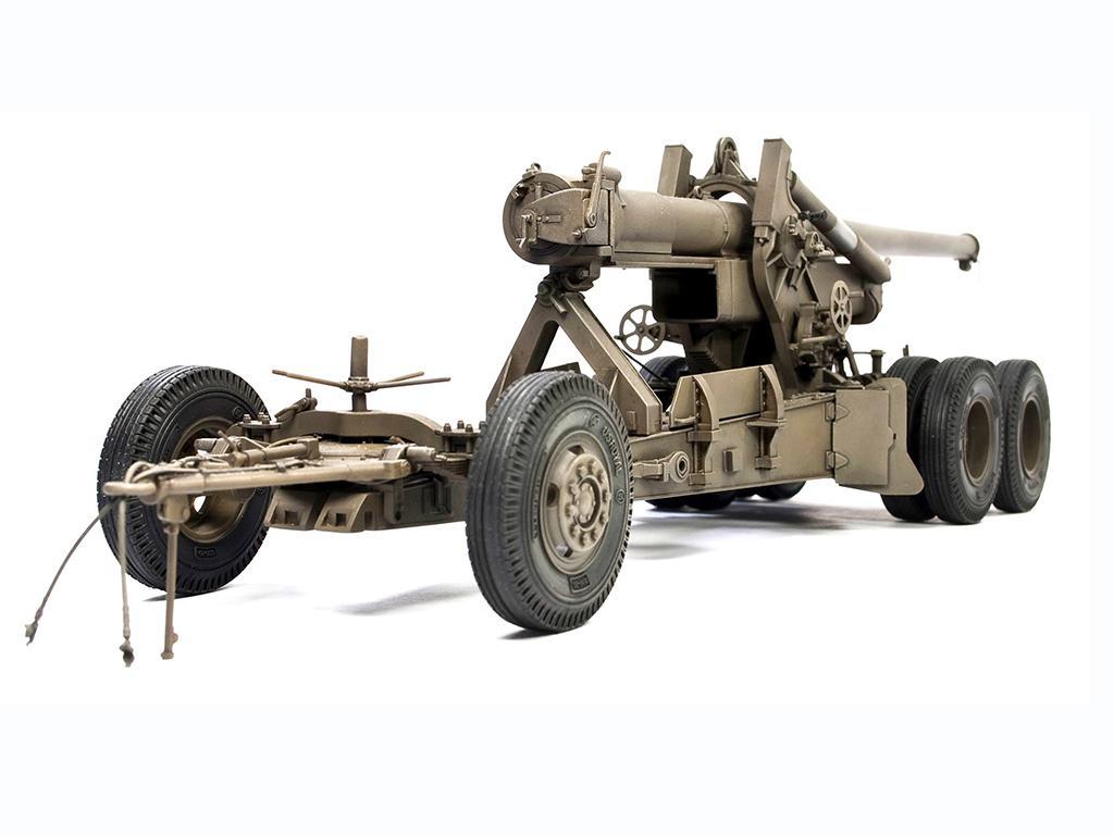 M1A1 155mm CANNON Long Tom WW 2 Version  (Vista 4)