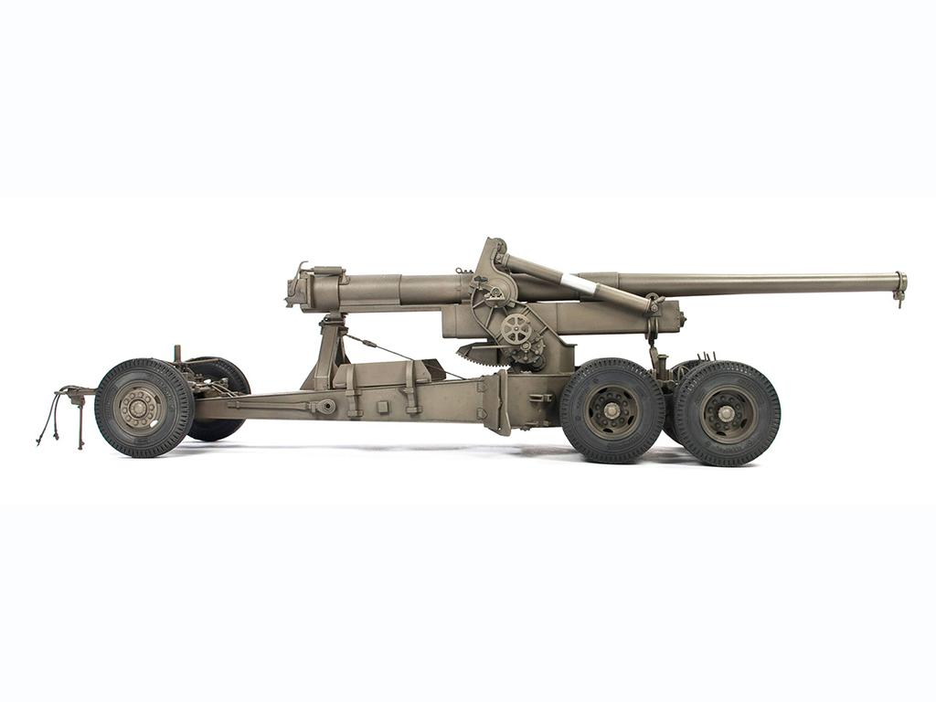 M1A1 155mm CANNON Long Tom WW 2 Version  (Vista 5)