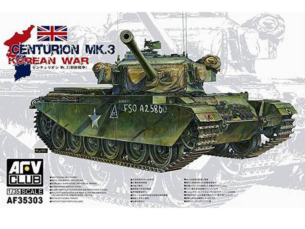 Centurion Mk.III Guerra de Corea (Vista 1)