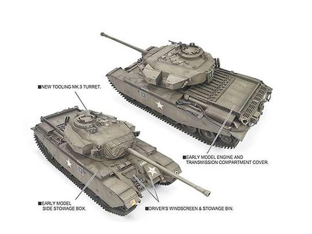 Centurion Mk.III Guerra de Corea (Vista 3)