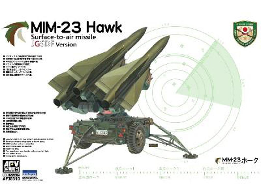 Misil tierra-aire Hawk MIM-23 (Vista 1)