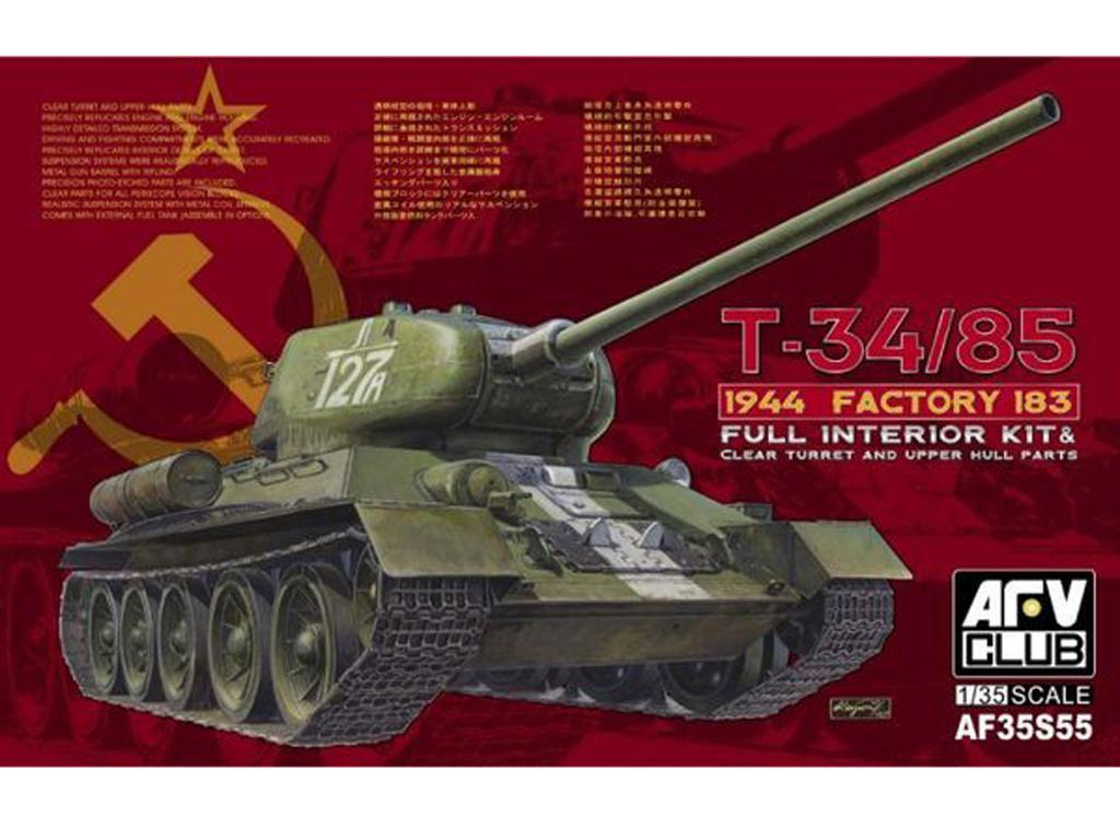 T-34/85 Model 1944 Factory No 183 (Vista 1)