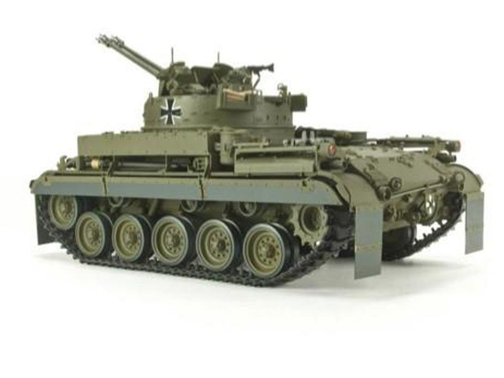 German Flakpanzer M-42A1  (Vista 4)