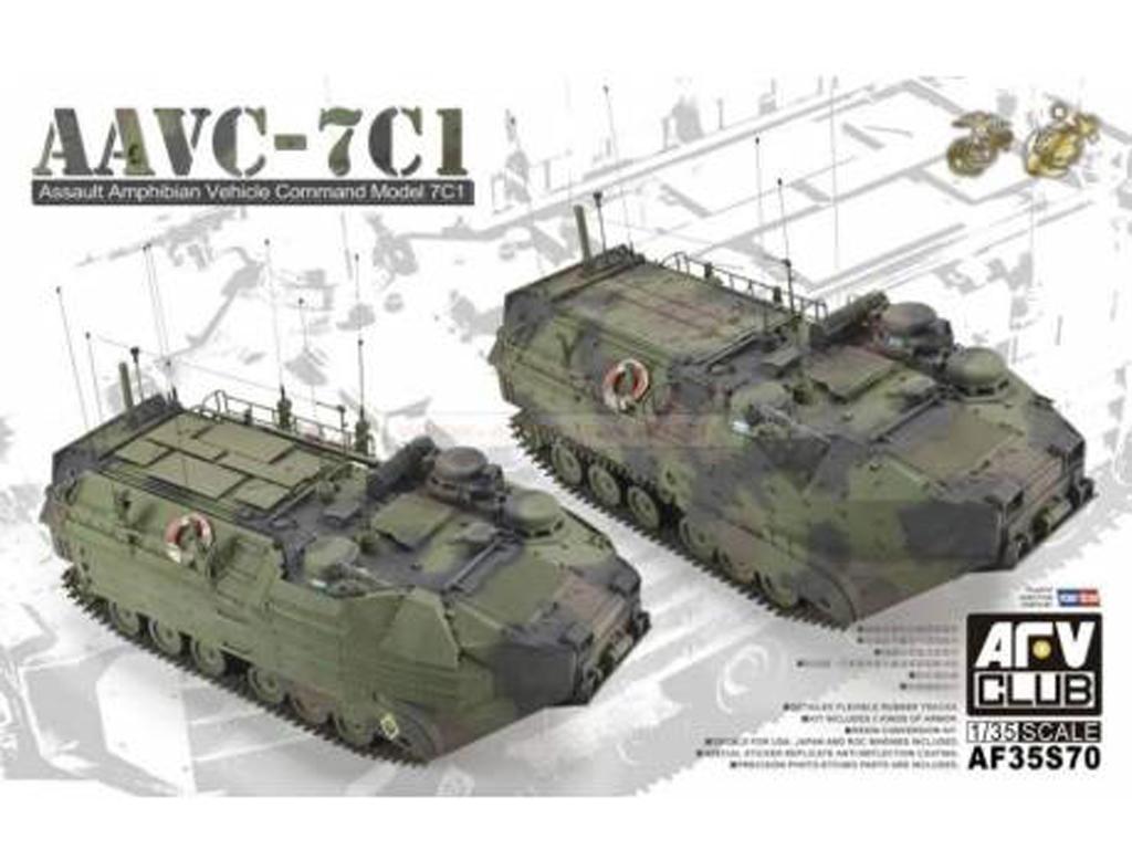 AAVC-7C1 w/resin upgrade parts (Vista 1)