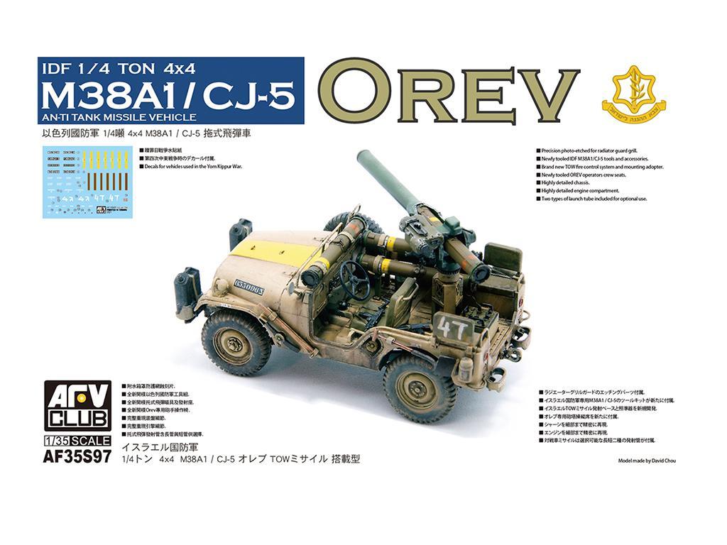 IDF 1/4 TON 4x4 M38A1/CJ05 Anti-Tank Missile Vehicle (Vista 1)