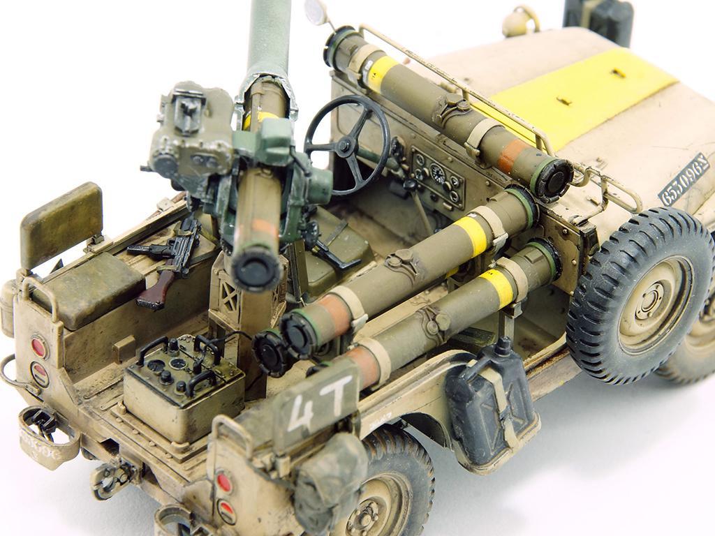 IDF 1/4 TON 4x4 M38A1/CJ05 Anti-Tank Missile Vehicle (Vista 2)