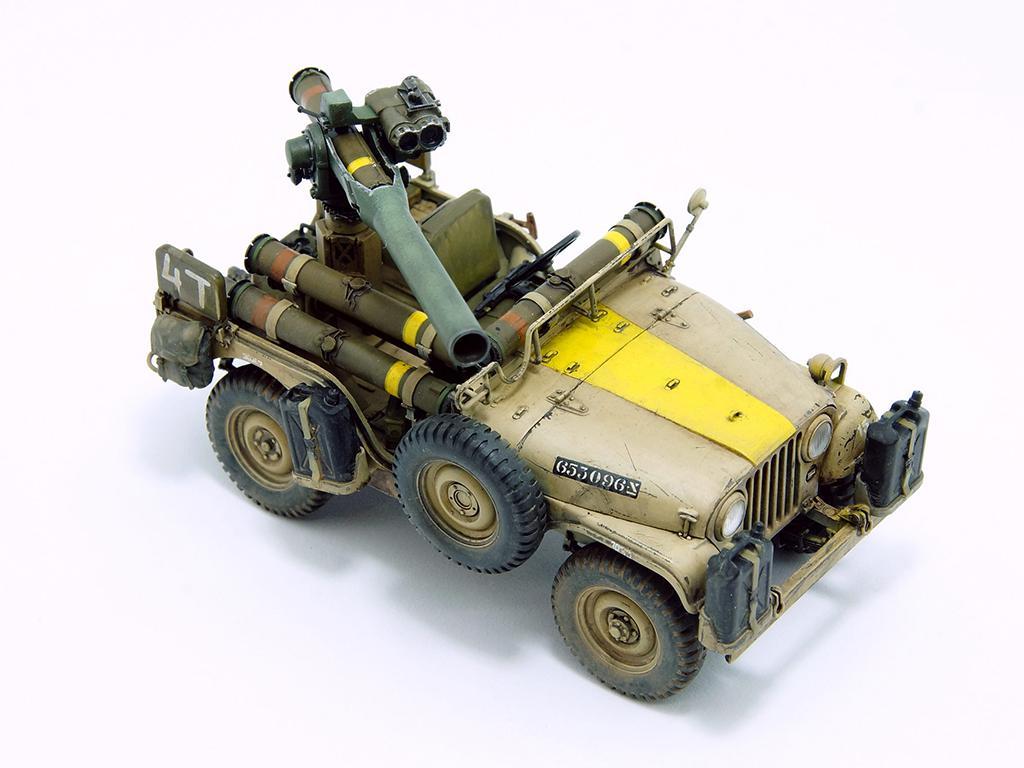 IDF 1/4 TON 4x4 M38A1/CJ05 Anti-Tank Missile Vehicle (Vista 3)