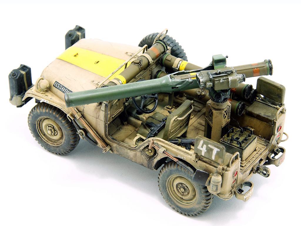 IDF 1/4 TON 4x4 M38A1/CJ05 Anti-Tank Missile Vehicle (Vista 4)