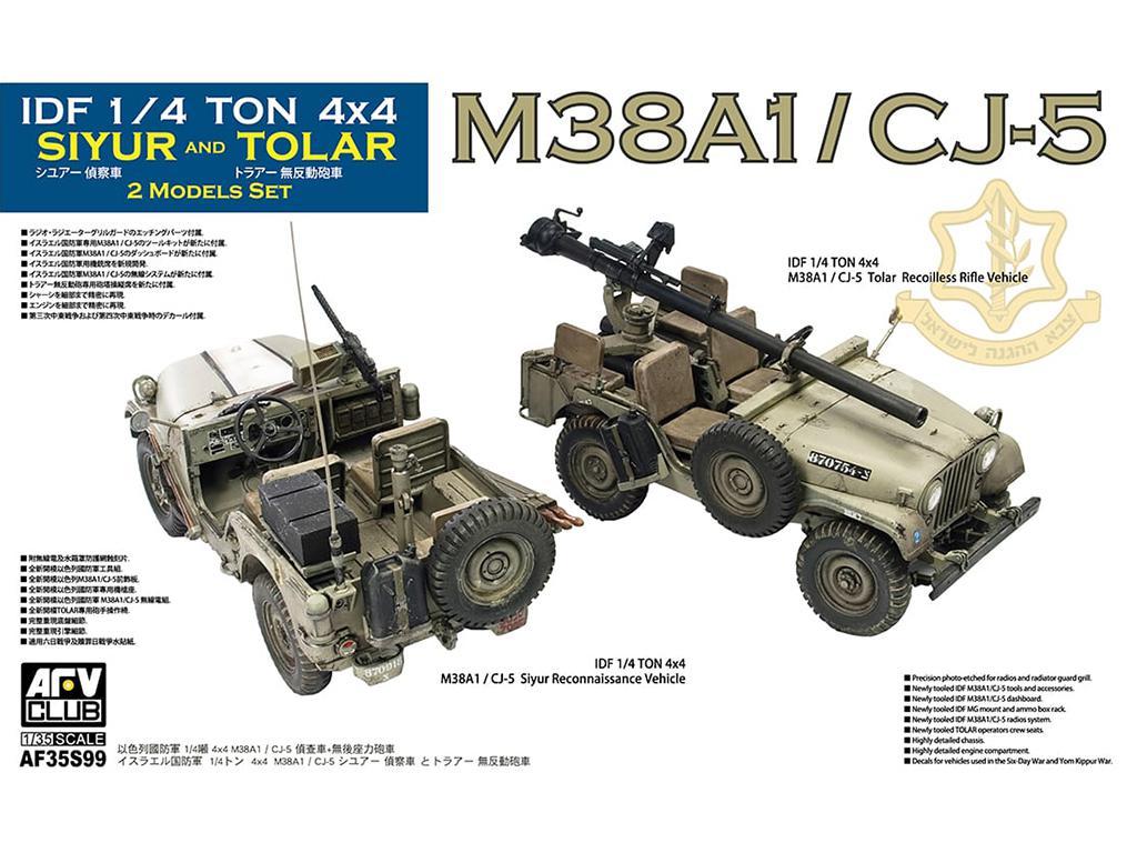 IDF M38A1 Series Reconnaissance / Fire Support Jeep (Vista 1)