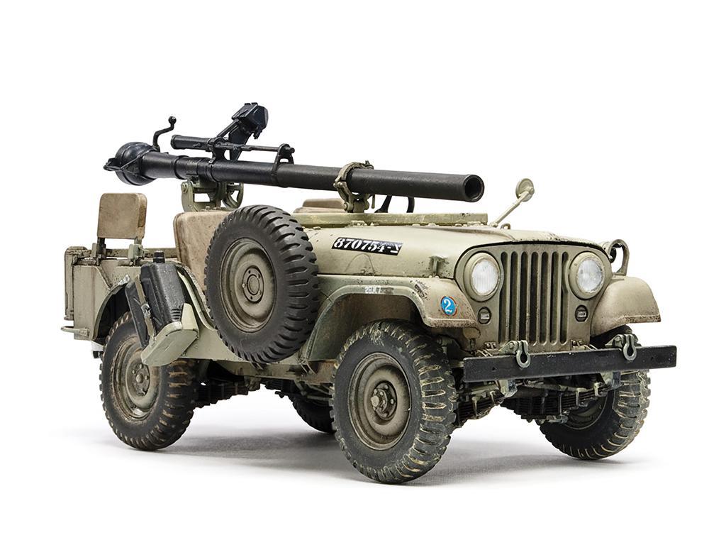 IDF M38A1 Series Reconnaissance / Fire Support Jeep (Vista 2)