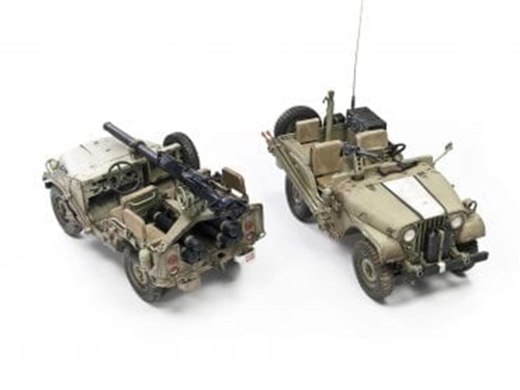 IDF M38A1 Series Reconnaissance / Fire Support Jeep (Vista 3)