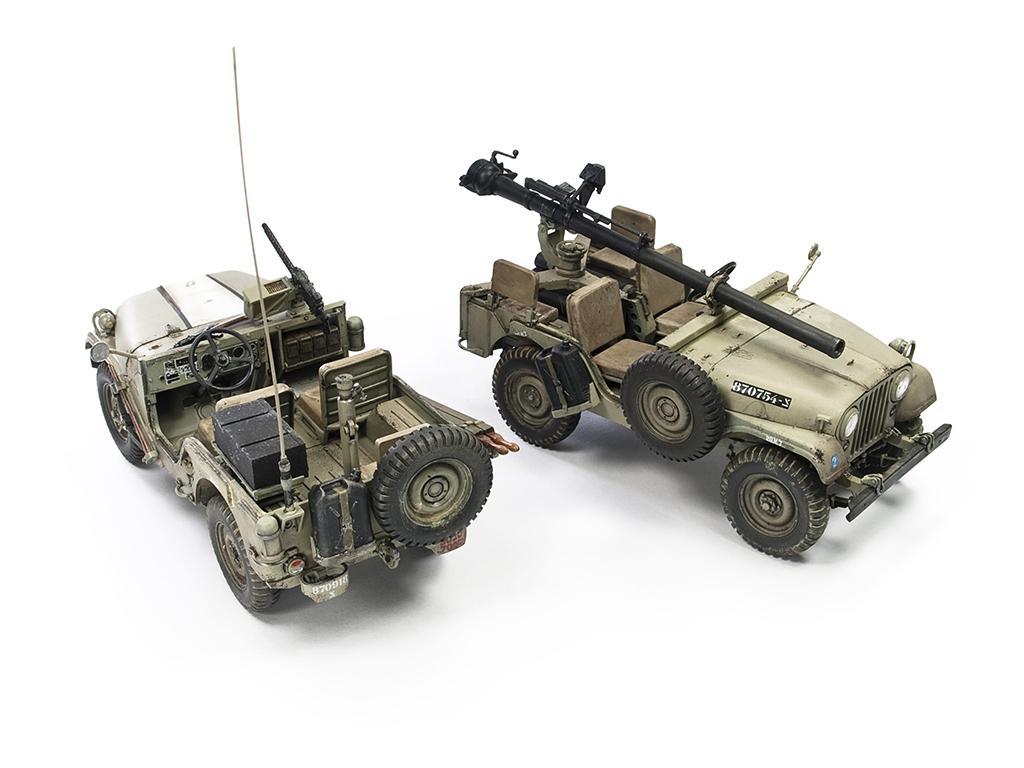 IDF M38A1 Series Reconnaissance / Fire Support Jeep (Vista 4)
