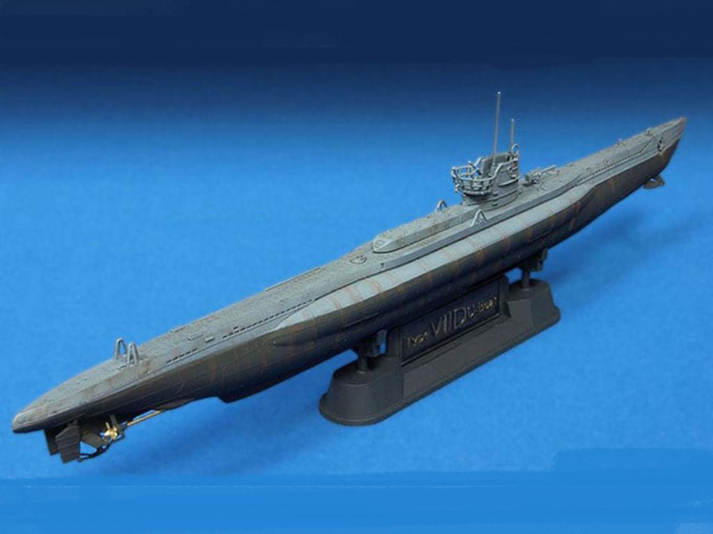 U-Boat Type VII / D  (Vista 4)