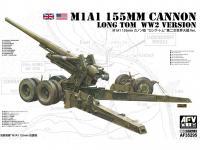 M1A1 155mm CANNON Long Tom WW 2 Version  (Vista 6)