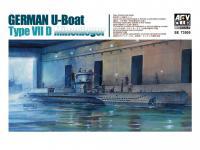 U-Boat Type VII / D  (Vista 5)