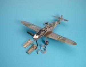 Bf 109G detail set - HASEGAWA  (Vista 1)