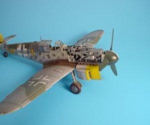Bf-109G engine set - Hasegawa  (Vista 1)