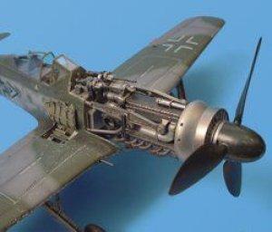 Fw 190D engine set - Hasegawa  (Vista 1)
