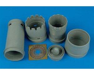 F-16CG/CJ Block 40/50 exhaust nozzles  (Vista 1)